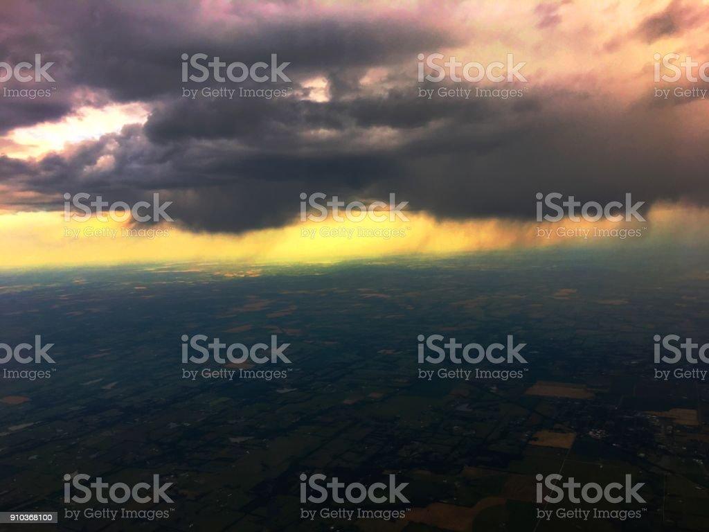 Aerial Amarillo stock photo