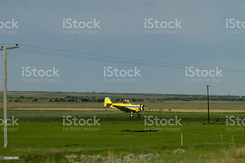 Aerial Applicator royalty-free stock photo