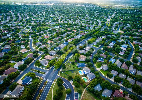 istock Aerial Austin Surburb Home Development Vast neighborhoods 635721372