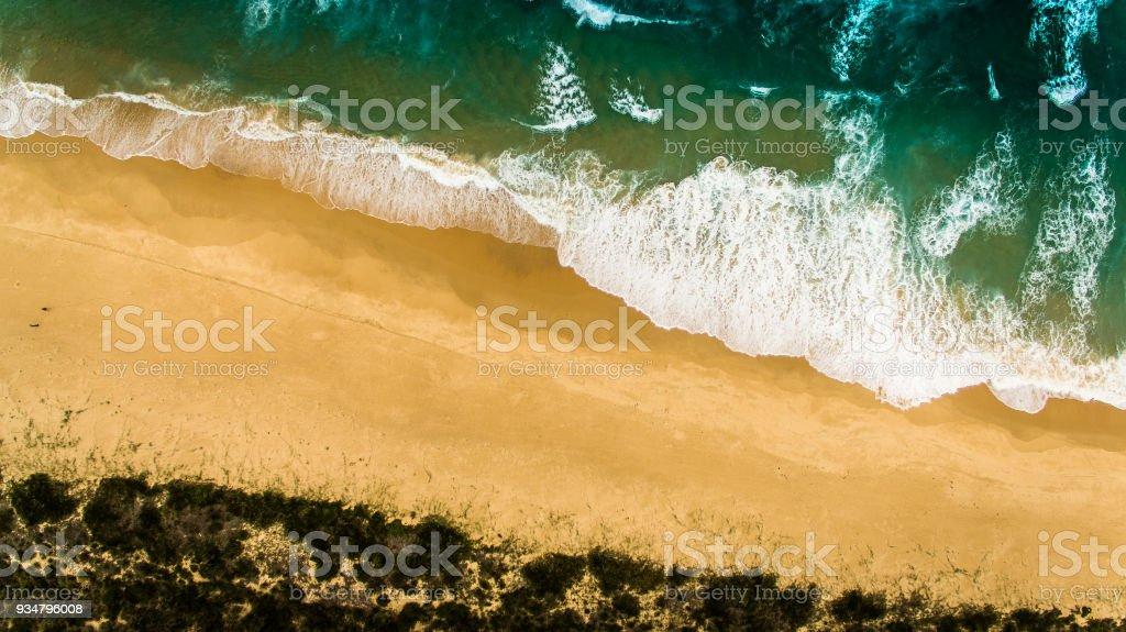 호주의 공중 비치 - 로열티 프리 0명 스톡 사진