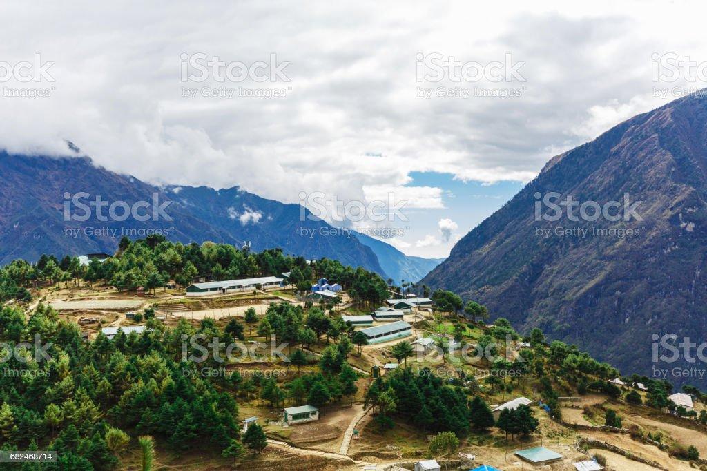 Luftbild der Stadt Lizenzfreies stock-foto