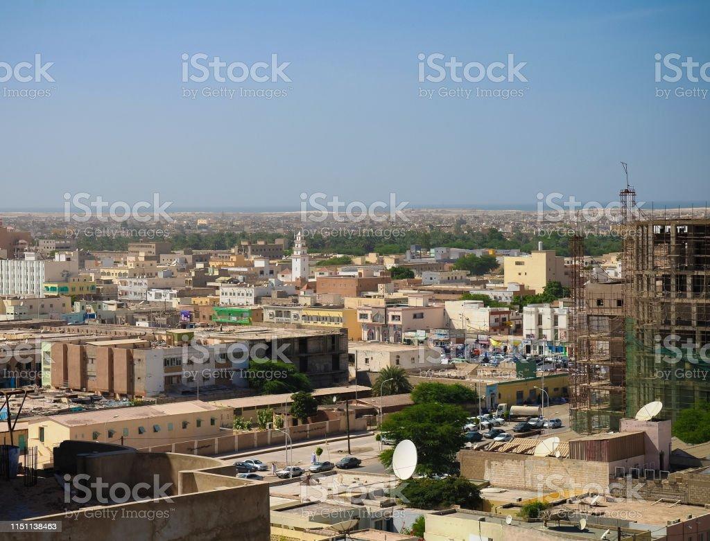 Luftbild Blick Auf Nouakchott Die Hauptstadt Mauretaniens Stockfoto Und Mehr Bilder Von Afrika Istock