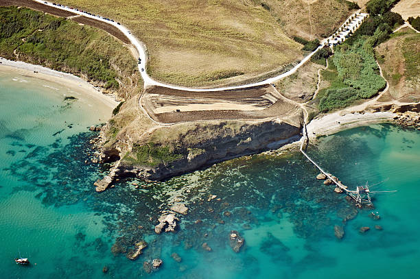 aerial Blick auf die Küste – Foto