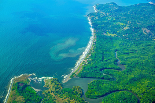 The coastline of Costa RicaClick here to view my other Tropical and Beach images