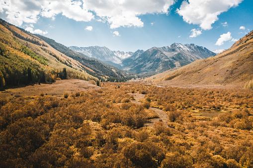 Beautiful Aspen Colorado during Autumn