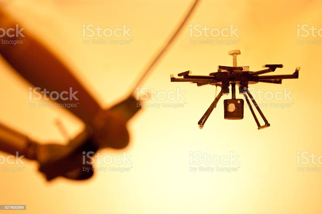 Ripresa aerea - foto stock