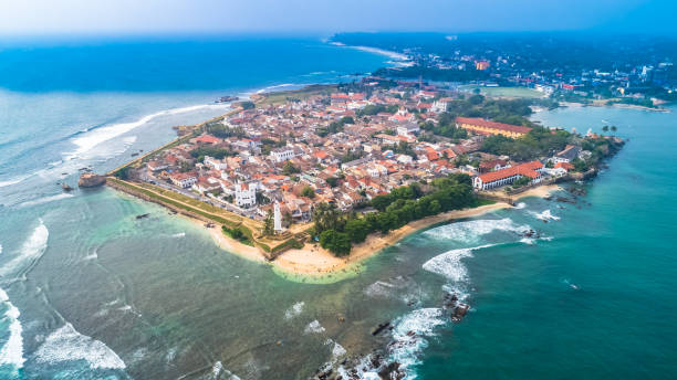 Galle Fort Sri Lanka Stock Photos, Pictures & Royalty-Free