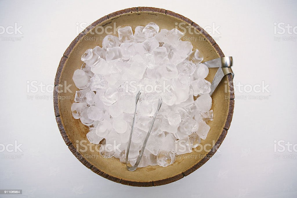 Aerial Ice Bucket royalty-free stock photo