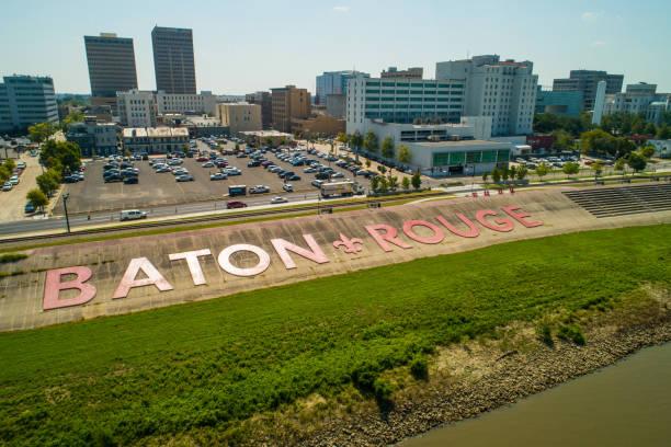 Aerial image of Baton Rouge Louisiana