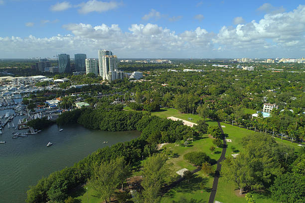 coconut grove florida stock photos, pictures & royalty