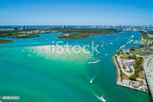 Haulover sand bar Miami Florida