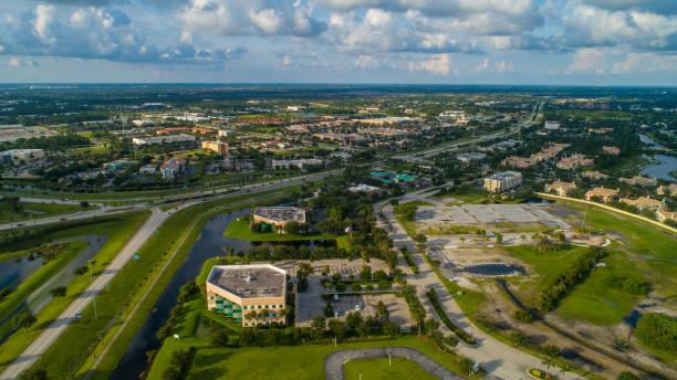 Aerial image Port St Lucie Florida