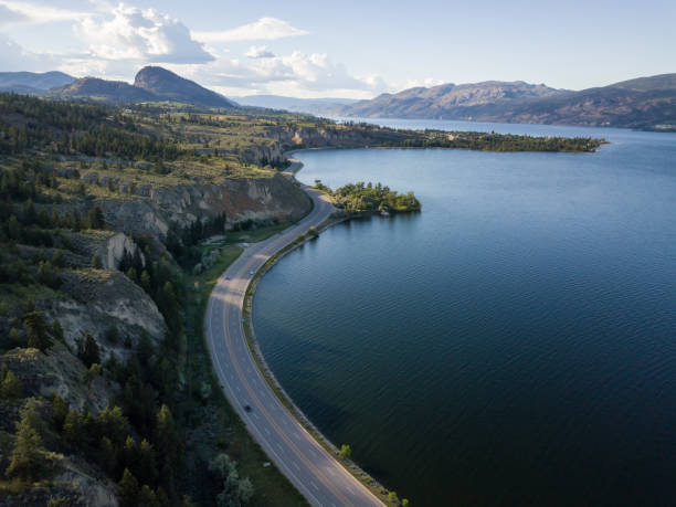 Aerial Landscape in Okanagan