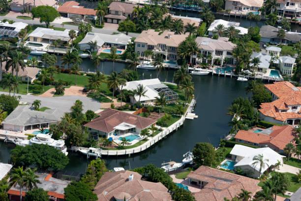 플로리다에서 공중 생활 스톡 사진