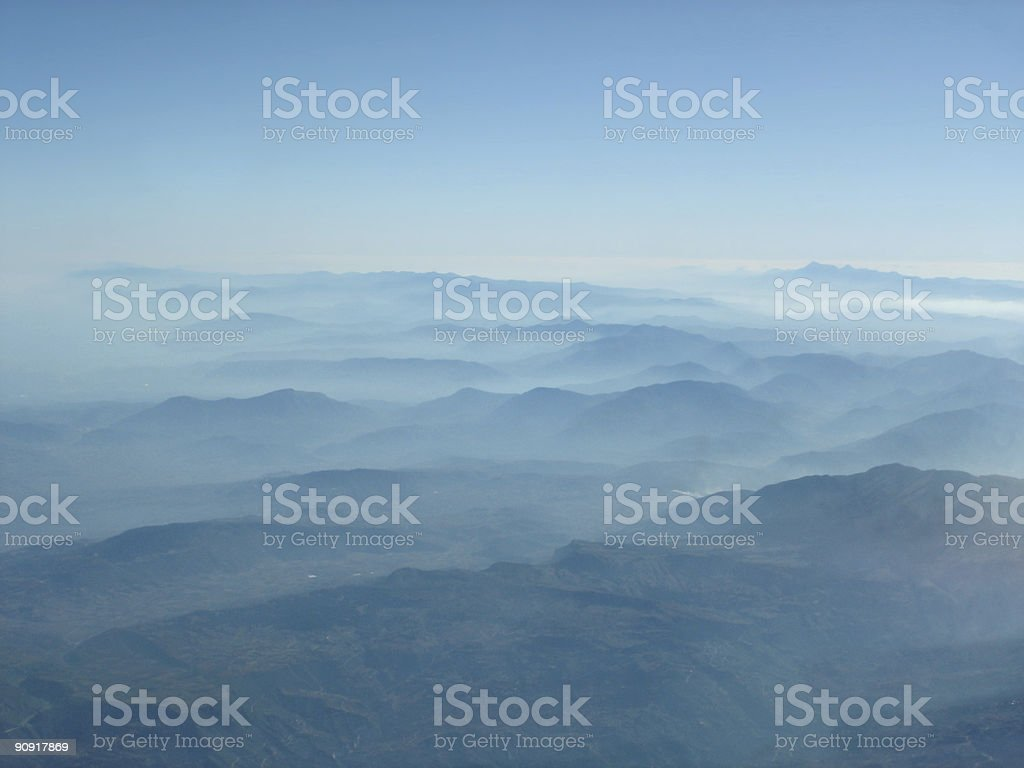 Aerial mountains​​​ foto