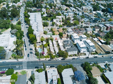 istock Aerial of Apartments and Houses 683451414