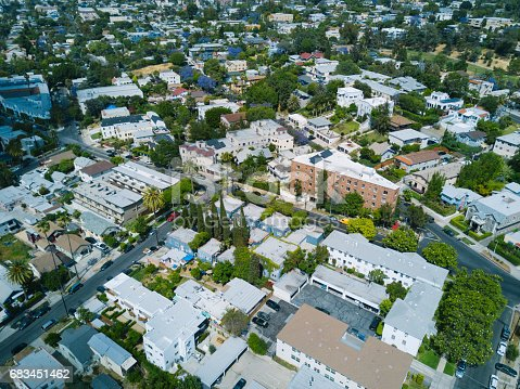 istock Aerial of Apartments and Houses 683451462