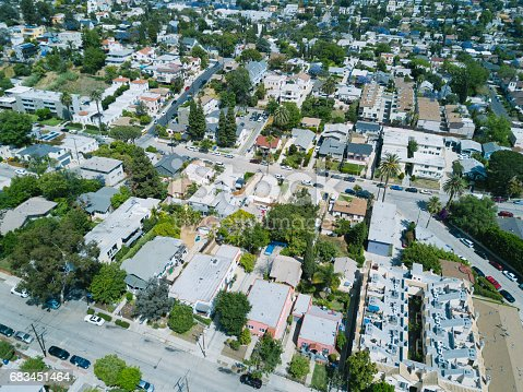 istock Aerial of Apartments and Houses 683451464