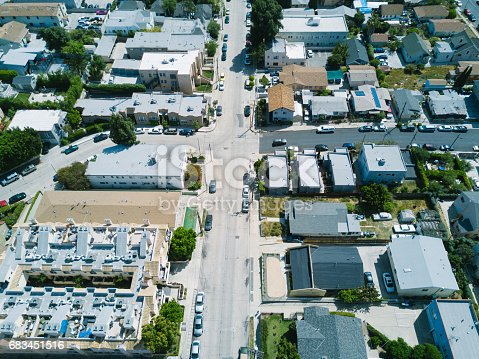 istock Aerial of Apartments and Houses 683451516