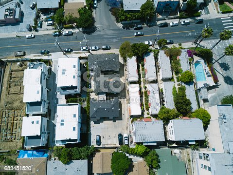 istock Aerial of Apartments and Houses 683451520