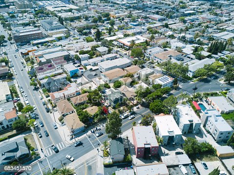 istock Aerial of Apartments and Houses 683451570