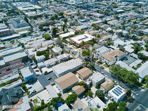 istock Aerial of Apartments and Houses 683451602
