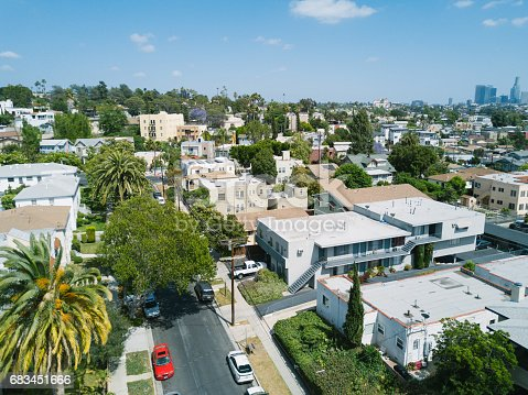 istock Aerial of Apartments and Houses 683451666