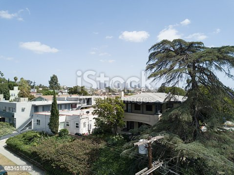 istock Aerial of Apartments and Houses 683451672
