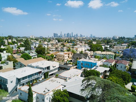 istock Aerial of Apartments and Houses 683451678