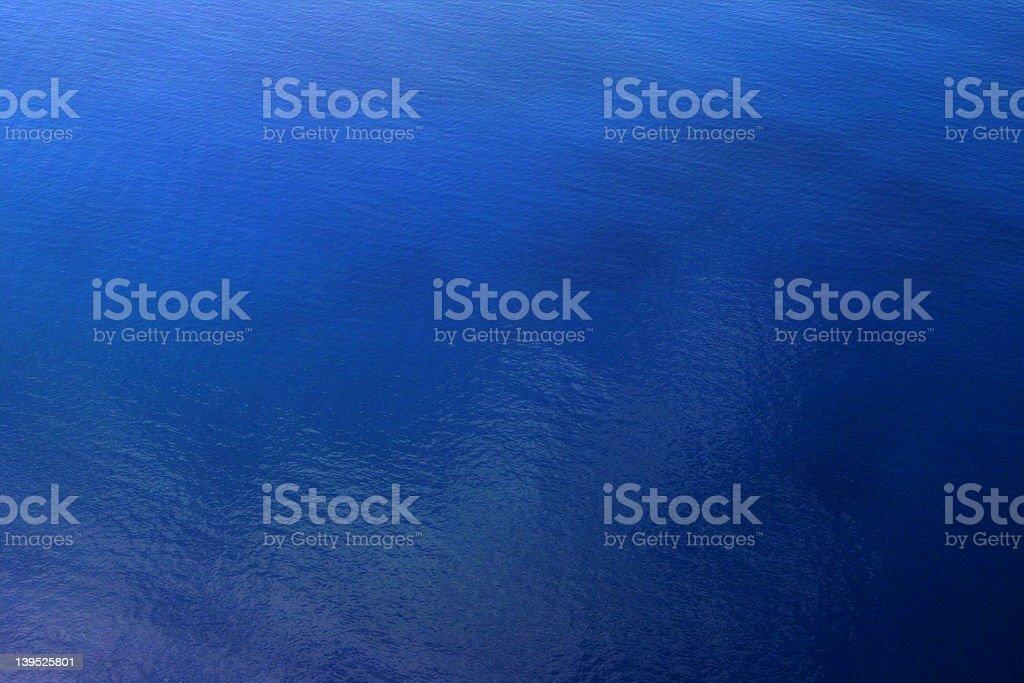 Aerial of Atlantic Ocean royalty-free stock photo