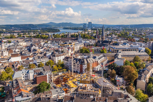 Luftaufnahmen der Stadt Bonn – Foto