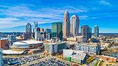 istock Aerial of Downtown Charlotte, North Carolina, USA 1130161854