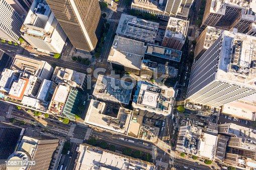 istock Aerial of Los Angeles, California Skyline 1088717730
