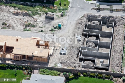 Aerial of New Residential Construction in an up and coming area of UtahClick Here to view my other Cityscapes and Architecture: