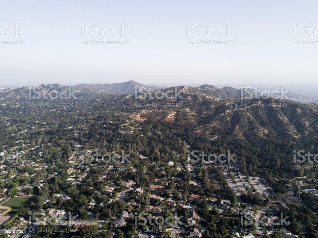 Antenne des Wohngebiet Lizenzfreies stock-foto