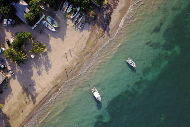 Luftaufnahmen von Salem Beach, Jamaika – Foto