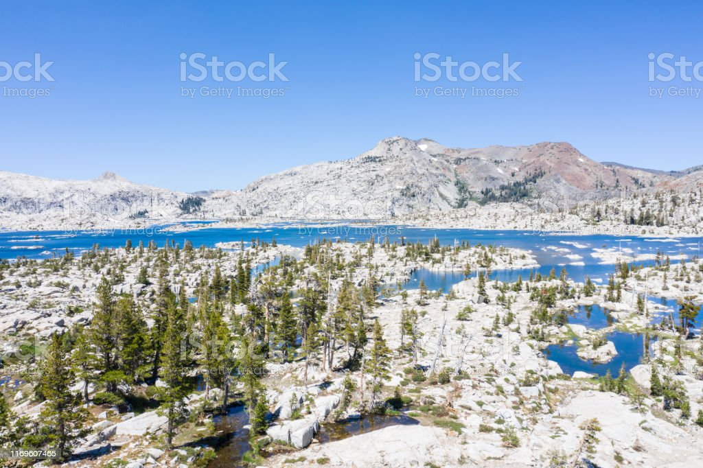 Aerial Of Sierra Nevada Mountains In California Stock Photo Download Image Now Istock