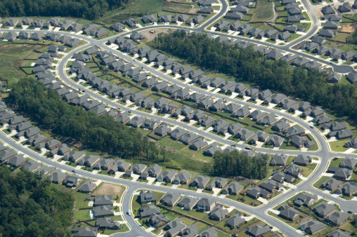 istock Aerial of Suburb Housing 157188567