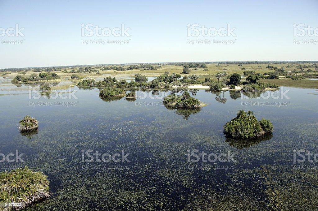 Luftbild Okavango – Foto