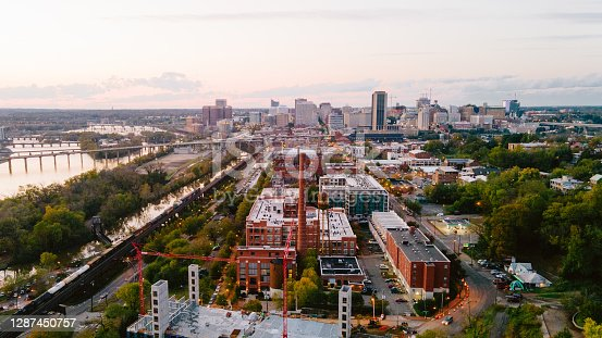 istock Aerial over Richmond, Virginia 1287450757