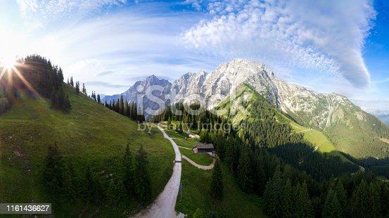 Bavaria, Berchtesgaden, Berchtesgadener Land, Germany, Mount Hoher Göll