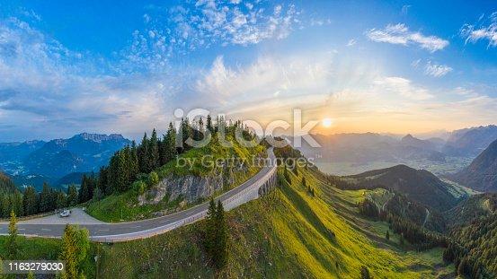 Bavaria, Berchtesgaden, Berchtesgadener Land, Germany, sunrise