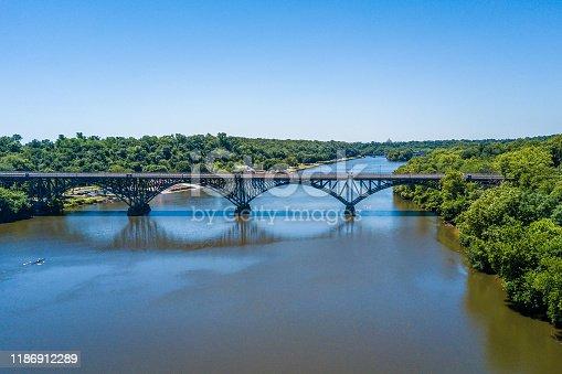 istock Aerial panorama of Schuylkill River and Fairmount park in Philadelphia 1186912289
