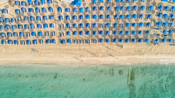 Aerial Pantachou - Limanaki beach, Ayia Napa, Zypern – Foto