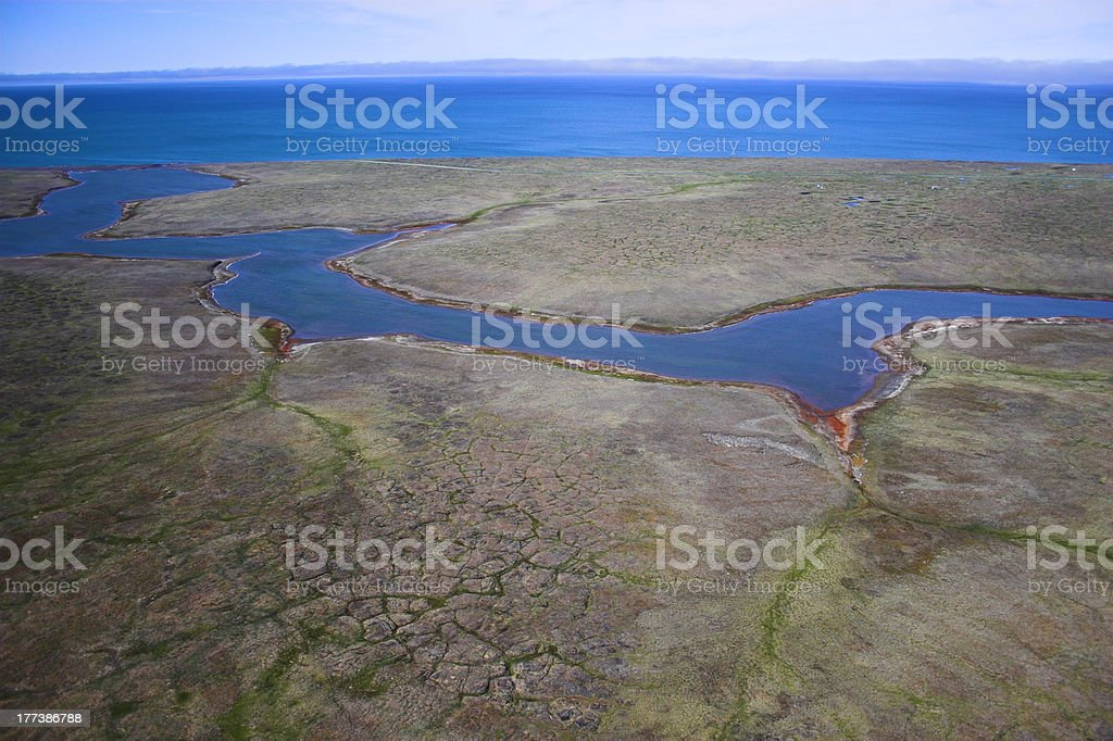 Aerial photo backgrounds stock photo