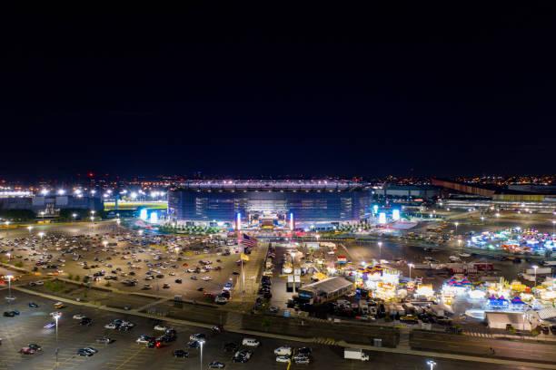 Aerial photo Metlife Stadium Rutherford NJ