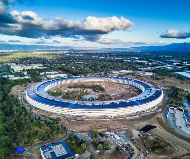 Apple Campus Stock Photos, Pictures & Royalty-Free Images