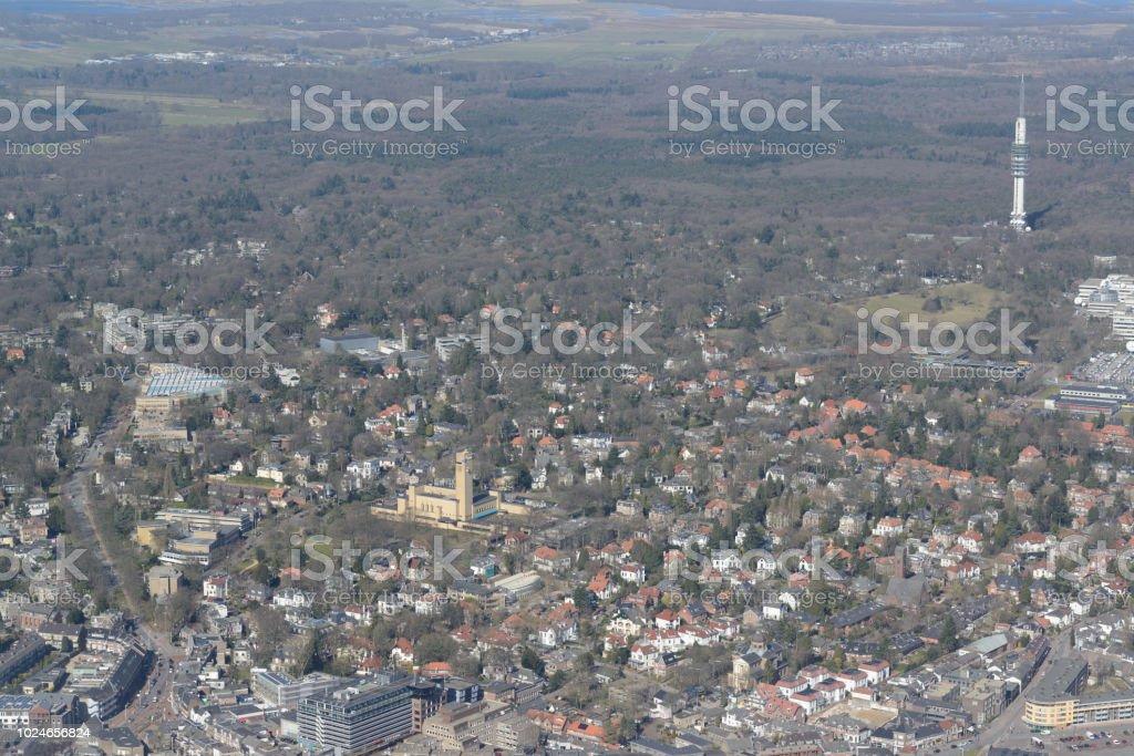 Luftaufnahme von Hilversum – Foto