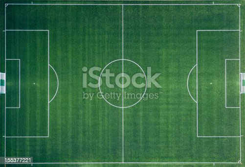 istock Aerial photo of Soccer Field 155377221
