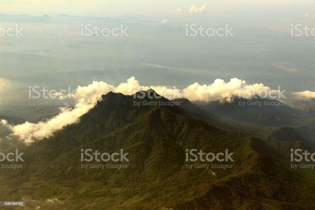 Aerial photograph stock photo